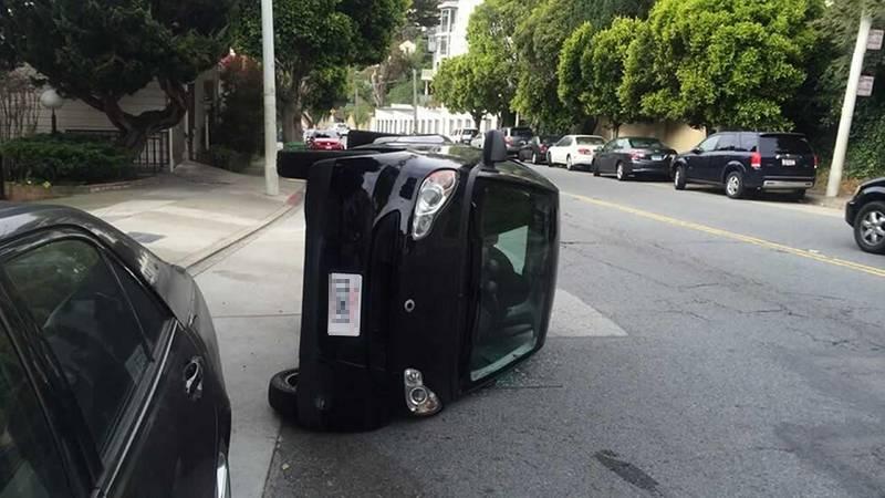 Συστάσεις στους κατόχους Smart να δέσουν τα οχήματα τους λόγω των ισχυρών ανέμων 4