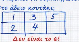 Η Σπαζοκεφαλιά που έχει «Ρίξει» το ίντερνετ: Εσύ μπορείς να βρεις ΠΟΙΟΣ αριθμός λείπει από το Κουτάκι της Εικόνας;