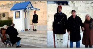 Η αλήθεια για τη φωτογραφία με τον παππού και τη γιαγιά στον Αγνωστο Στρατιώτη