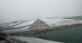 Πιλότος καταγράφει την προσγείωσή του στο χιονισμένο αεροδρόμιο «Μακεδονία»