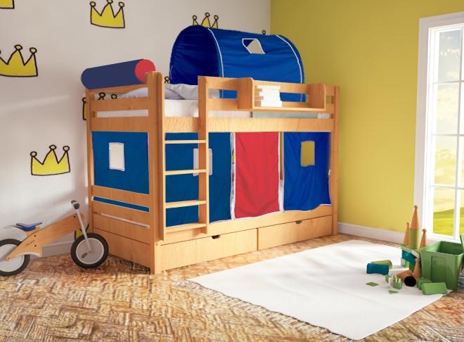 Διαλέγοντας την ιδανική κουκέτα στο παιδικό σας δωμάτιο