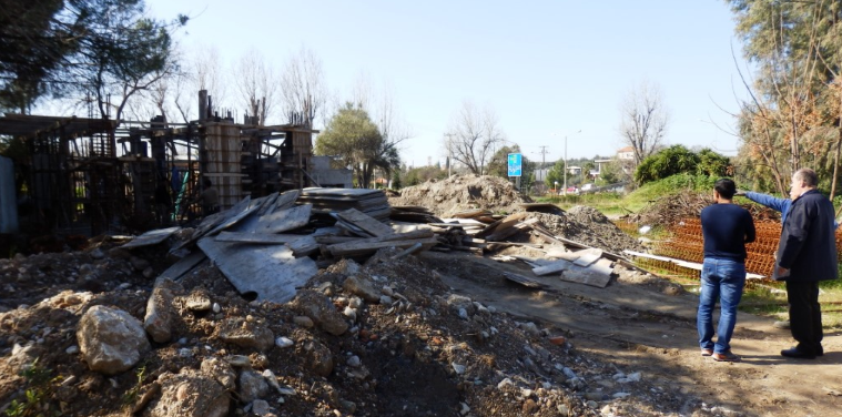 Εργασίες ανέγερσης του βοηθητικού κτηρίου στο Ανοικτό Θέατρο Καλαμάτας 20
