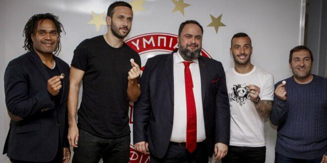 Μαρινάκης: «Θα κερδίσετε και θα πάρουμε το πρωτάθλημα»