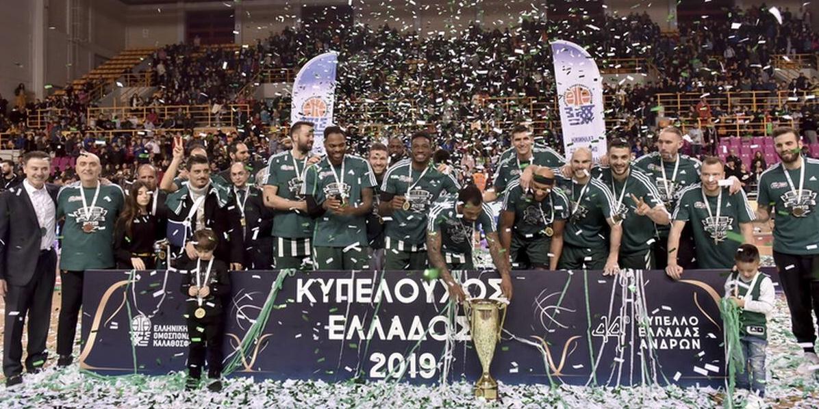 ΠΑΟΚ - Παναθηναϊκός ΟΠΑΠ 73-79: «Πράσινο» το Κύπελλο Ελλάδας 12
