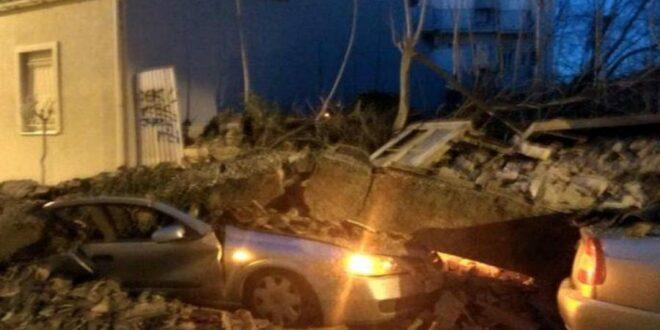 Κατέρρευσε κτίριο στο κέντρο της Αθήνας! «Ακούστηκε ένας εκκωφαντικός θόρυβος. Τρέξαμε να σωθούμε…»