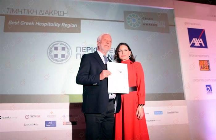 Βραβεύθηκε για την προσφορά του στον τουρισμό ο Περιφερειάρχης Πελοποννήσου στα Greek Hospitality Awards 2019 13