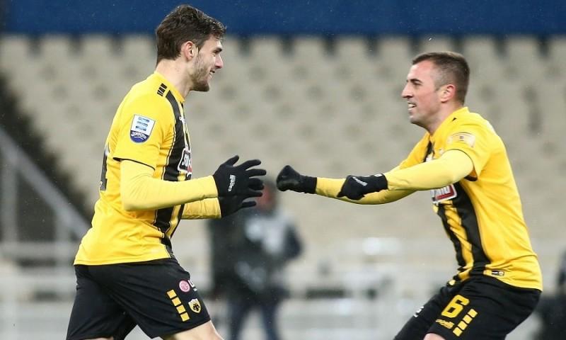 Super League: ΑΕΚ - Απόλλων Σμύρνης 2-1 10