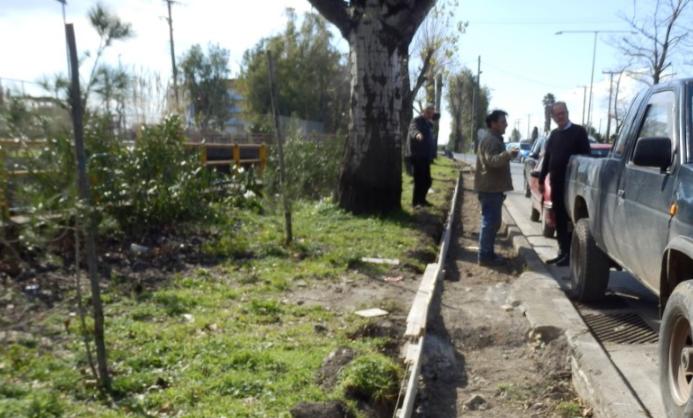 Πεζοδρόμιo 1.500 μέτρων κατασκευάζεται στην οδό Αρτέμιδος 3