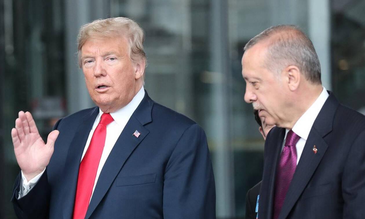 Έληξε το τελεσίγραφο: Ο Τραμπ «τελειώνει» τον Ερντογάν 1