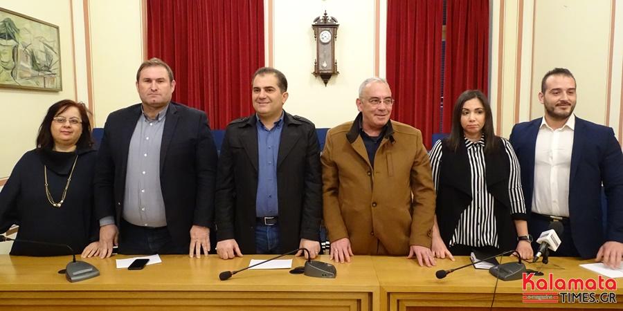Πέντε νέους  υποψήφιους ανακοίνωσε ο Θανάσης Βασιλόπουλος (video) 1
