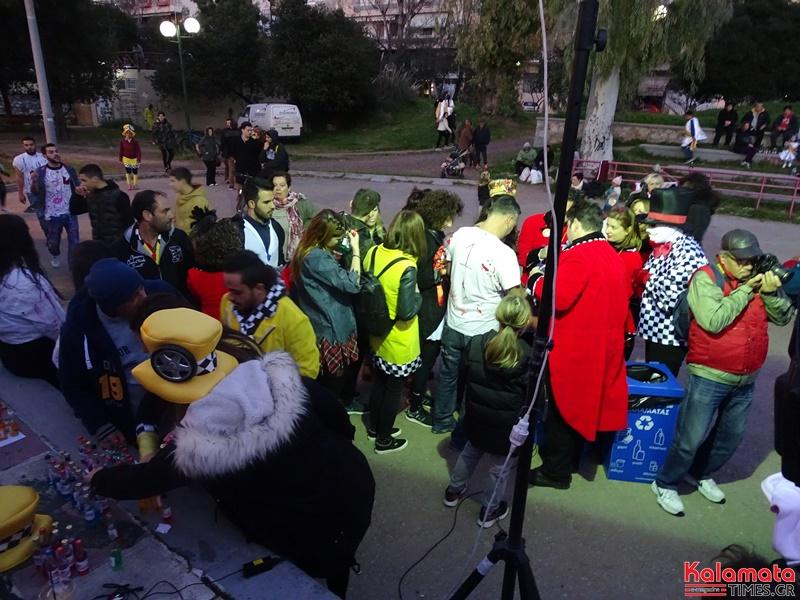 Το πάρκο της Καλαμάτας πλημμύρισε από καρναβαλιστές 3