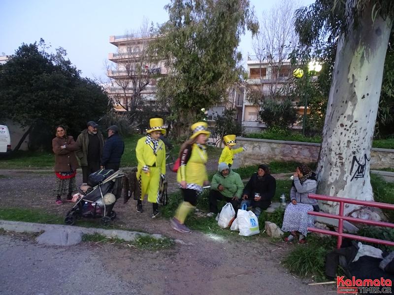 Το πάρκο της Καλαμάτας πλημμύρισε από καρναβαλιστές 5