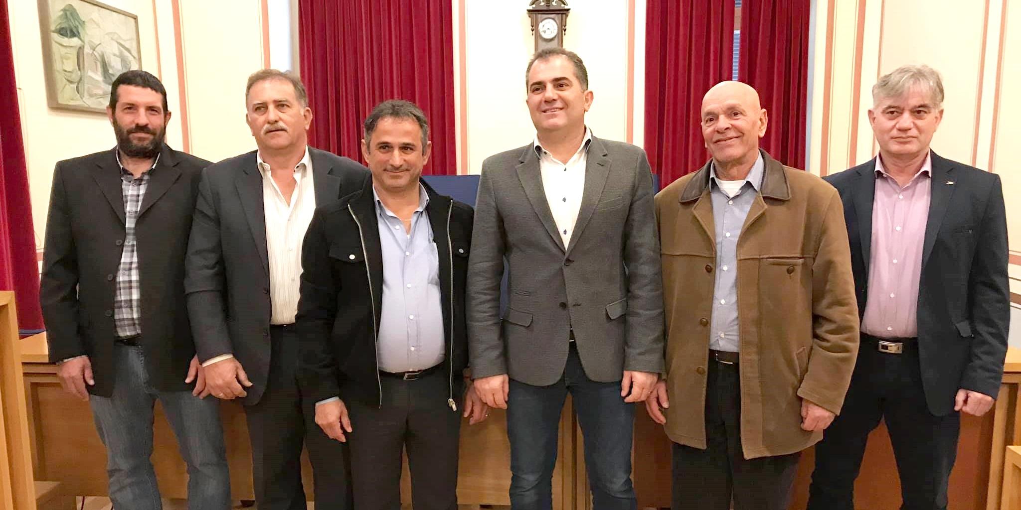 5 νέους υποψήφιους παρουσίασε ο Θ. Βασιλόπουλος φτάνοντας τους 43 45