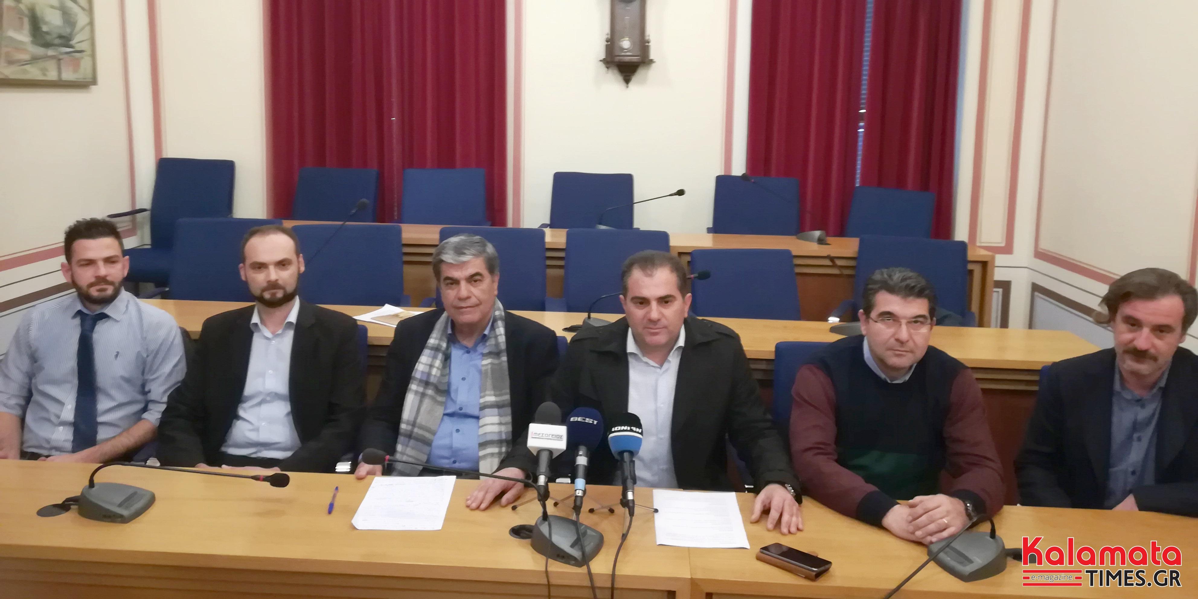 """Θανάσης Βασιλόπουλος, πρώτος μεταξύ ίσων στη """"Δημιουργική πρωτοβουλία για το Δήμο Καλαμάτας"""" 6"""
