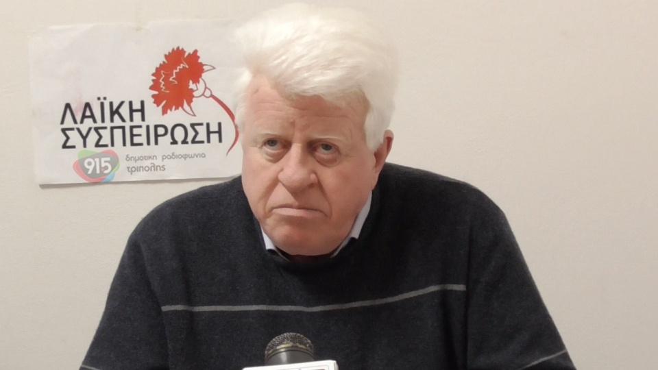 """Δήλωση του υπ. Περιφερειάρχη Πελοποννήσου Νίκου Γόντικα μετά τη παράσταση 'Φιλουμενα Μαρτουρανο"""" 13"""