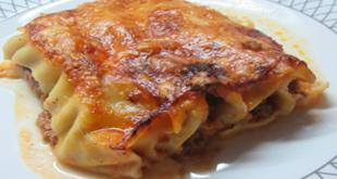 Κανελόνια με κιμά και τυριά. Το καλύτερο ζυμαρικό