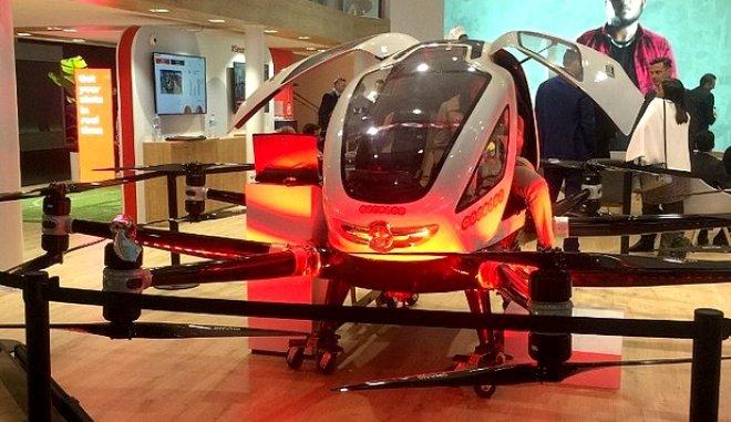 Το μέλλον έρχεται με αεροταξί drones: Σε χρήση το 2022 (vid) 1