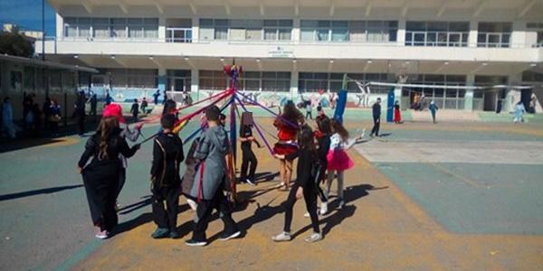 Αποκριάτικο πάρτι στο 6ο Δημοτικό Σχολείο Καλαμάτας