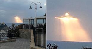 Η εικόνα του Ιησού Χριστού σχηματίστηκε στον ουρανό πάνω από την Ιταλία και όλοι μιλούν για θαύμα