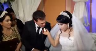 Βίντεο: Γαμπρός χαστουκίζει τη νύφη γιατί δεν «σηκώνει» το πείραγμα με την τούρτα