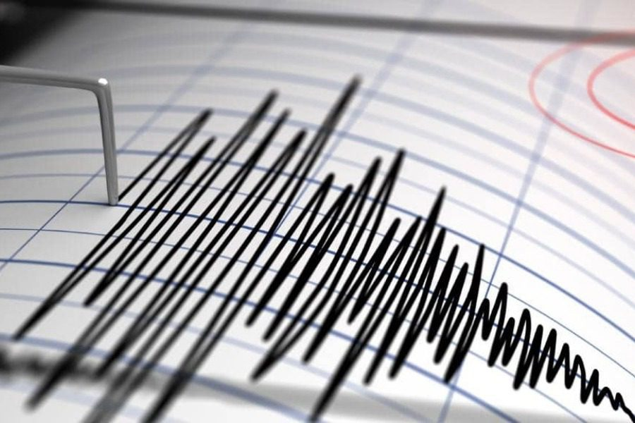Ισχυρή σεισμική δόνηση στον Κορινθιακό κόλπο 1