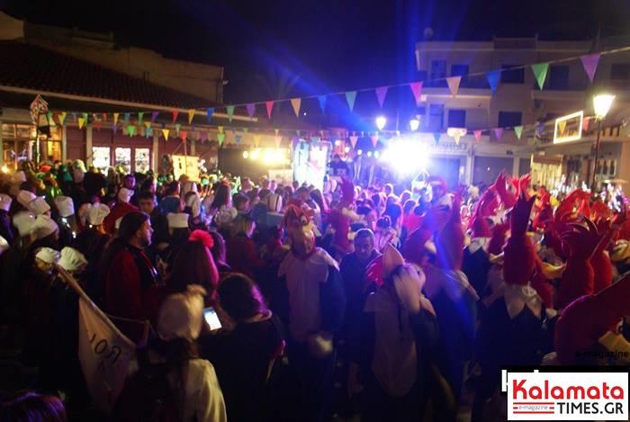Δείτε τι ώρα ξεκινάει η νυχτερινή παρέλαση του καλαματιανού καρναβαλιού 2