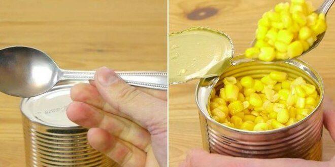 Δείτε πώς ανοίγουν οι κονσέρβες χωρίς ανοιχτήρι! (vid)
