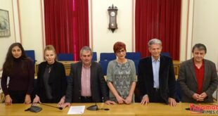 """Τέσσερις νέους υποψήφιους παρουσίασε ο Θανάσης Πετράκος, επικεφαλής του συνδυασμού """"Αγωνιστική Συνεργασία Πελοποννήσου"""""""