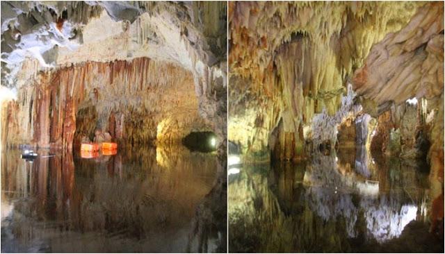 Στη Λακωνία βρίσκεται ένα από τα ομορφότερα σπήλαια στον κόσμο (vid) 1