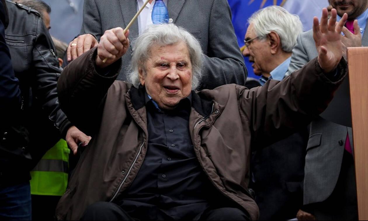 Δύσκολες ώρες για τον Μίκη Θεοδωράκη: Μεταφέρθηκε εσπευσμένα στο νοσοκομείο 7