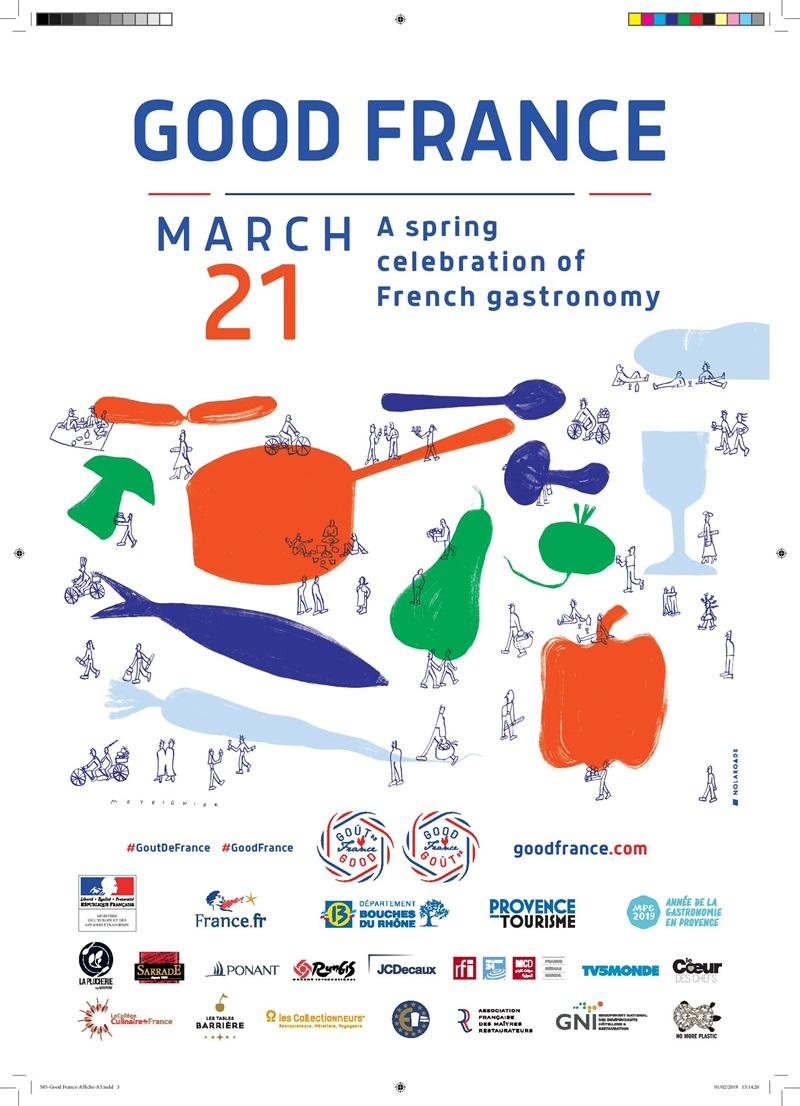 """Την Πέμπτη 21 Μαρτίου το yiamas gastro bar σερβίρει …""""α λα γαλλικά"""""""