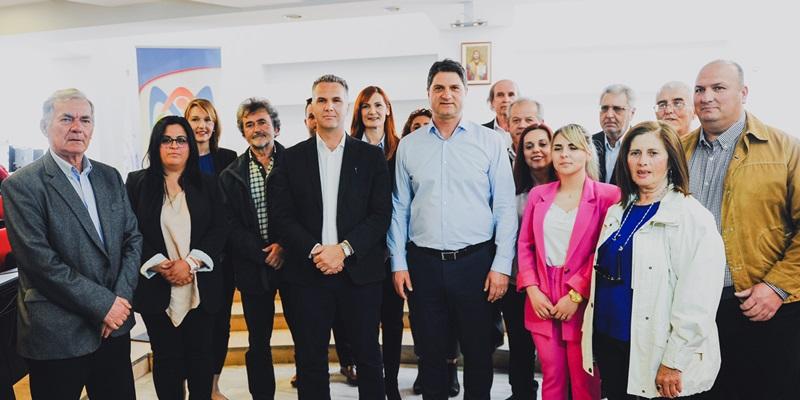 Γ. Αθανασόπουλος: «Δύναμη Δημιουργίας» με ενθουσιασμό, αισιοδοξία για το μέλλον και 16 νέοι υποψήφιοι 1