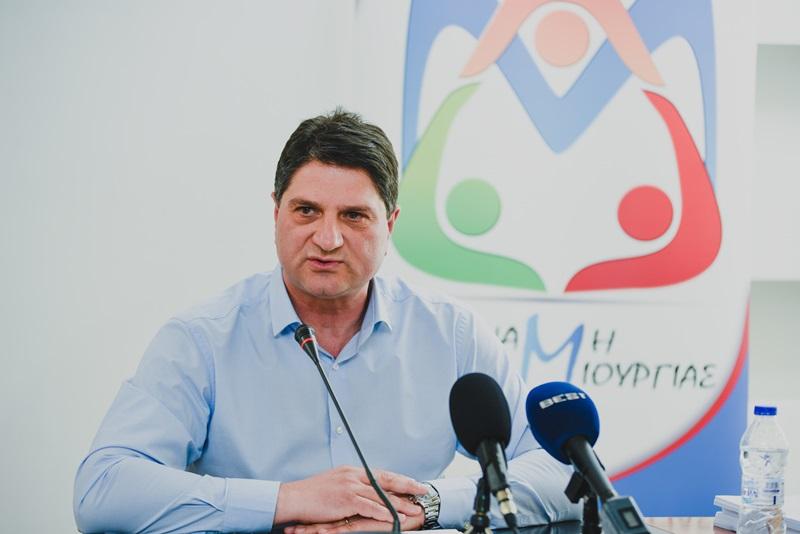 Γ. Αθανασόπουλος: «Δύναμη Δημιουργίας» με ενθουσιασμό, αισιοδοξία για το μέλλον και 16 νέοι υποψήφιοι 2