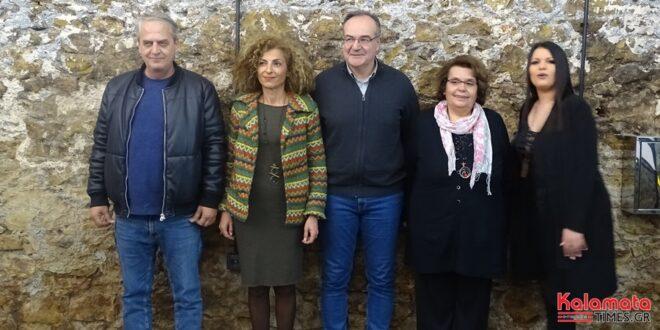 """5 νέους υποψήφιους του συνδυασμού  """"Καλαμάτα Μπροστά"""" παρουσίασε ο Βασίλης Κοσμόπουλος"""
