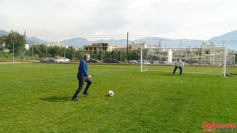Εγκαίνια στο προπονητικό κέντρο της Μαύρης Θύελλας στα Παλιάμπελα (video)