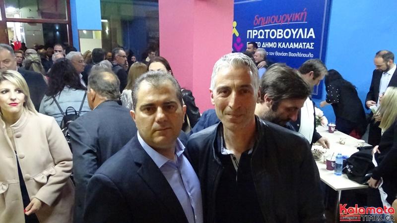 Ο Θανάσης Βασιλόπουλος παρουσίαση 4 νέων υποψήφιων αλλα και τον γραφείων του συνδυασμού του 10
