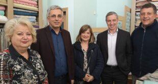 Ο Μ. Μάκαρης συναντήθηκε με την πρόεδρο και τα μέλη του Εμπορικού Συλλόγου Καλαμάτας