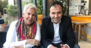 «Καλαμάτα Ξεκινάμε» Συνάντηση Μαρίας Οικονομάκου με το Δήμαρχο της πόλης πρότυπο
