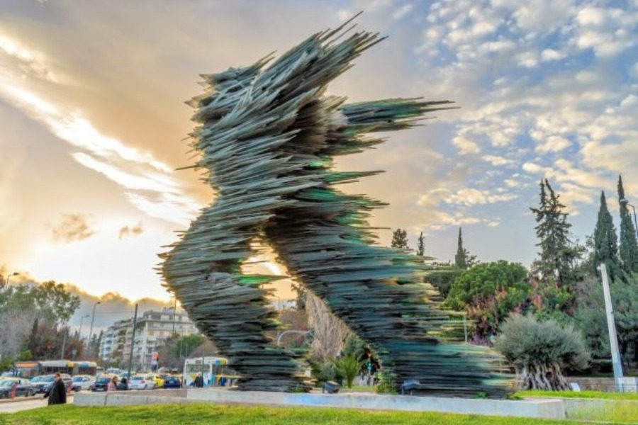 Σάλος με το γλυπτό του Βαρώτσου και την ανταλλαγή με άγαλμα απ` τα Σκόπια 12