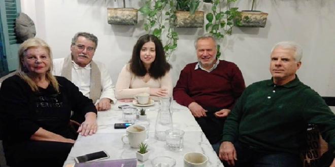 Μιχάλης Αντωνόπουλος συνάντηση με τις ομάδες FRONTI ΖΩ και «ΟΡΕΙΑΔΕΣ»