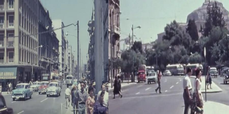 Βίντεο-ντοκουμέντο: Ετσι ήταν οι δρόμοι της Αθήνας το 1962 5