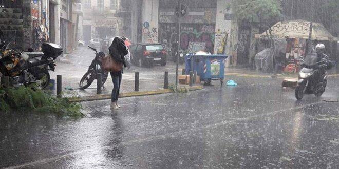 Βροχές και καταιγίδες μέχρι Τρίτη