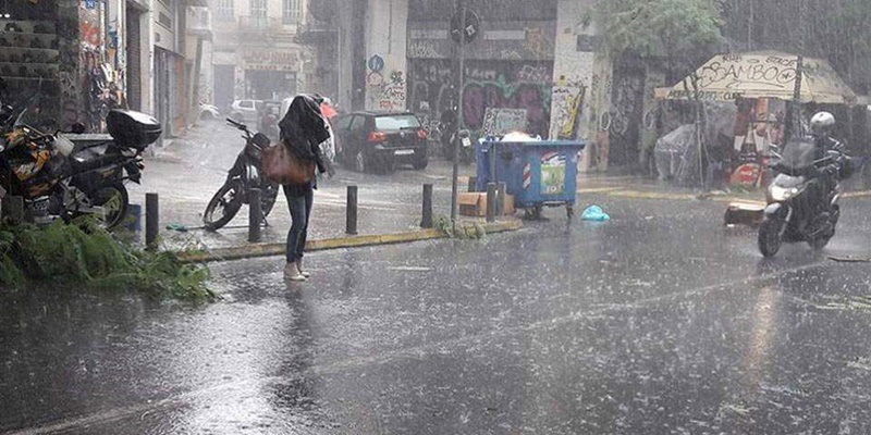 «Χαλάει» ο καιρός: Από Δευτέρα, βροχές και καταιγίδες μέχρι Τρίτη 1