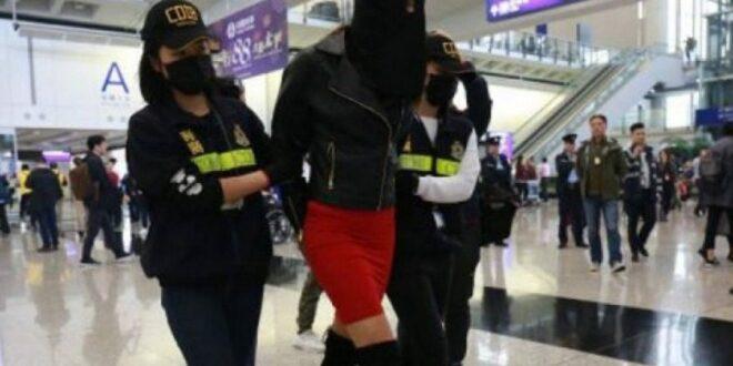 Φωτογραφίες από το μοντέλο με την κοκαΐνη πριν συλληφθεί στο Χονγκ Κονγκ
