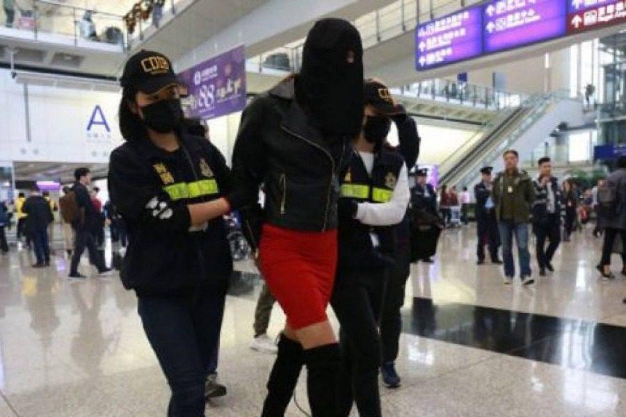 Φωτογραφίες από το μοντέλο με την κοκαΐνη πριν συλληφθεί στο Χονγκ Κονγκ 1