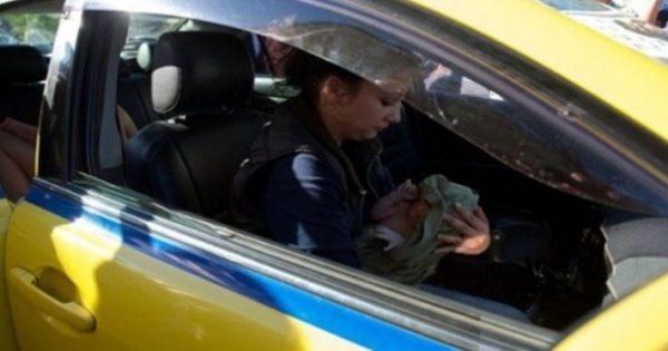 Πρωτοφανές: Γέννησε σε ταξί στο κέντρο της Αθήνας! – ΒΙΝΤΕΟ 29
