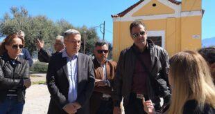 Επίσκεψη του Μανώλη Μάκαρη και του Ανοιχτού Δήμου στην Ράχη