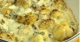 Κουνουπίδι φούρνου μεγκοργκονζόλα και φουντούκια αλα κρέμ!