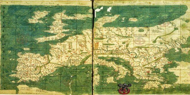 Ο σπανιότατος βυζαντινός χάρτης που βρίσκεται στη Μυστική Βιβλιοθήκη του Βατικανού! (φωτό)