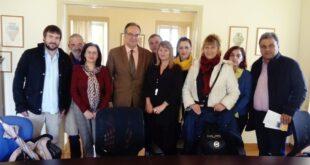 Β. Κοσμόπουλος: Επίσκεψη στην Εφορία Αρχαιοτήτων Μεσσηνίας